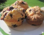 Time for a Treat - Blueberry Scone Muffins