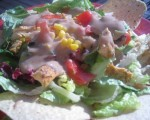 Hurry Up and Eat - Southwest Chicken Salad