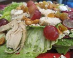 What's For Dinner?  Harvest Time Grilled Chicken Salad