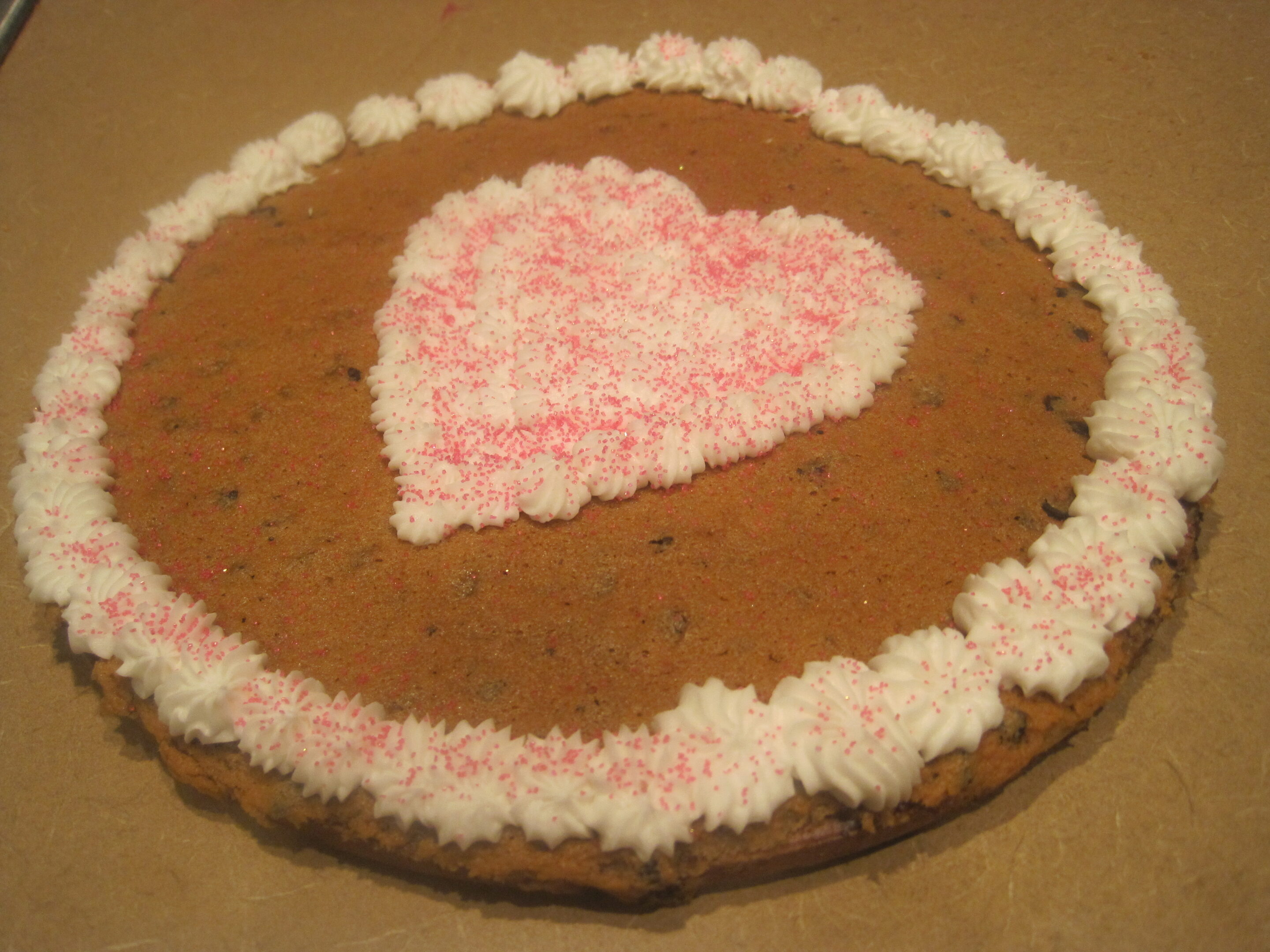 Great American Cookie Cake at Home Passionate Penny Pincher