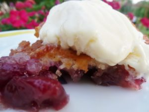 to a wire fresh cherry cobbler yum we can enjoy fresh cherry cherry ...