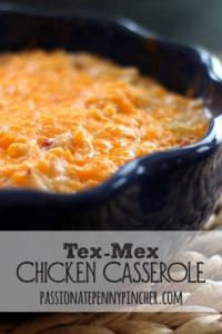 Tex Mex Chicken Casserole