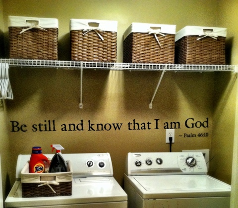 25 Days To A More Organized You Day Five The Laundry Room Passionate Penny Pincher