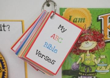 Free Bible Verse Flashcard Printables
