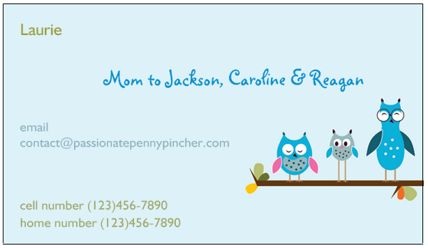 Free business cards mommy cards tote bags post it notes more right now vistaprint is offering a great value on six personalized items including business cards stamps t shirts sticky notes flip books and tote bags reheart Image collections