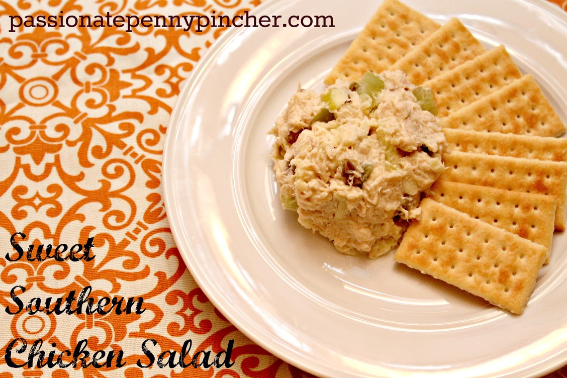 Whats for dinner sweet southern chicken salad passionate penny sweet southern chicken salad passionate penny pincher forumfinder Gallery