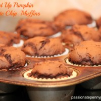 Lightened-Up-Pumpkin-Chocolate-Chip-Muffins
