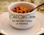 Chili Con Carne For the Slow Cooker Or Stovetop