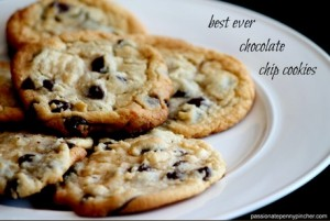 Best Chocolate Chip Cookies - Passionate Penny Pincher
