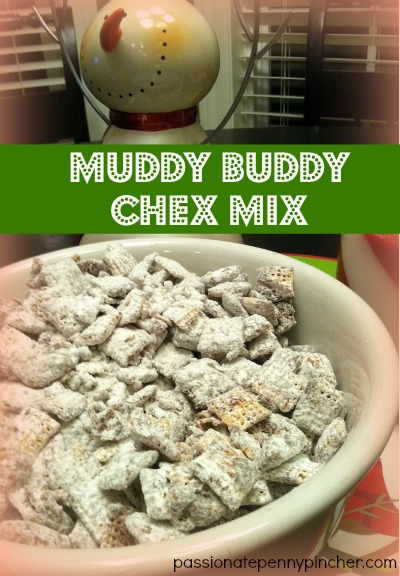 Muddy Buddy Chex Mix