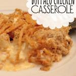Buffalo Chicken Casserole - PINTEREST