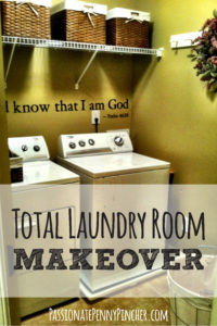 Total laundry room makeover