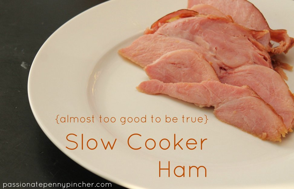 Easy Slow Cooker Ham