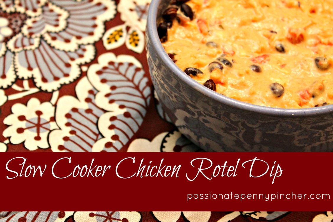 Slow Cooker Chicken Ro-Tel Dip
