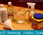 Homemade Window Cleaner Using Cornstarch