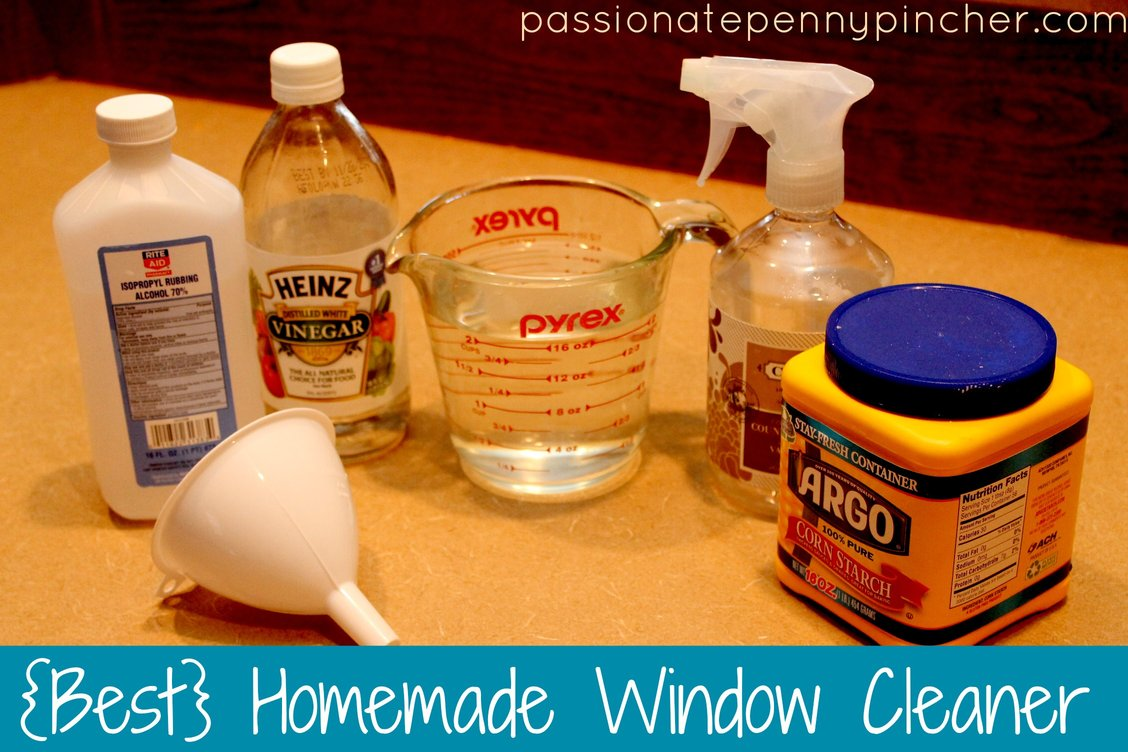 Homemade Window Cleaner Passionate Penny Pincher