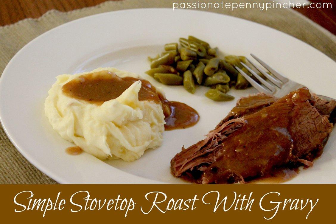 Simple Stovetop Roast