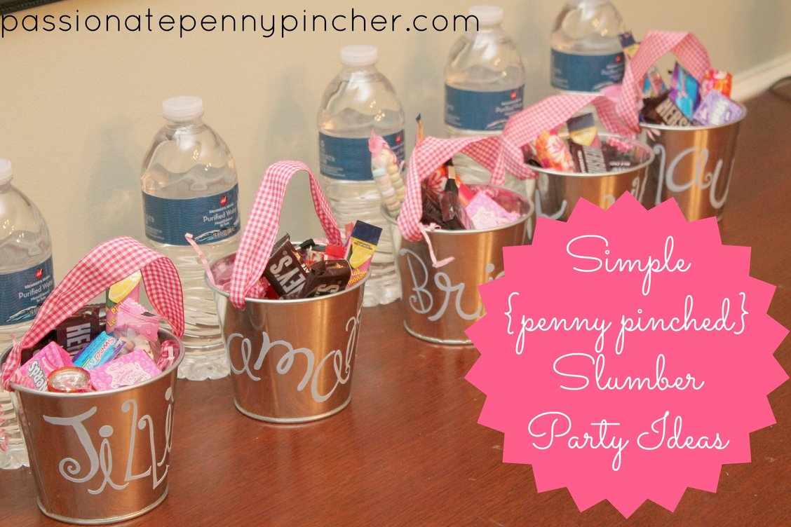 Pictures of Slumber Party Decorations http://passionatepennypincher.com/2013/03/frugal-slumber-party-ideas/