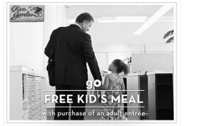 Kids Eat Free At Olive Garden Today Passionate Penny Pincher