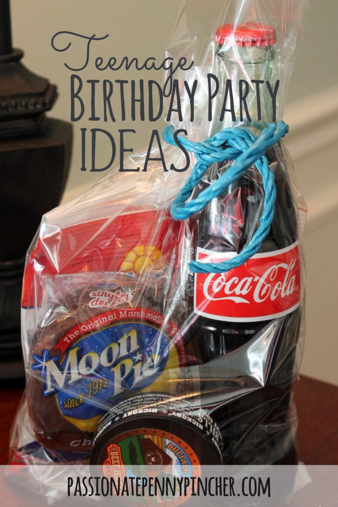 Teenage Boy Birthday Party Ideas - Passionate Penny Pincher