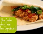 Slow Cooker Chicken and Rice Tacos