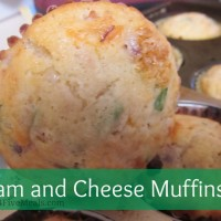 Ham and Cheese muffins cover
