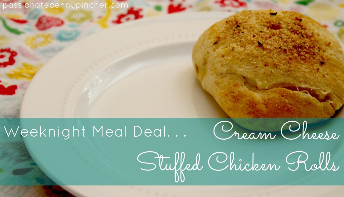 Crescent Roll Recipe: Cream Cheese Stuffed Chicken Rolls