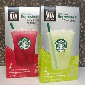 Target Deal Starbucks Refreshers Only 329 Per Package