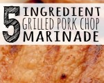 5 ingredient pork chop marinade - PINTEREST
