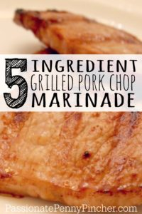 5 ingredient pork chop marinade - PINTEREST