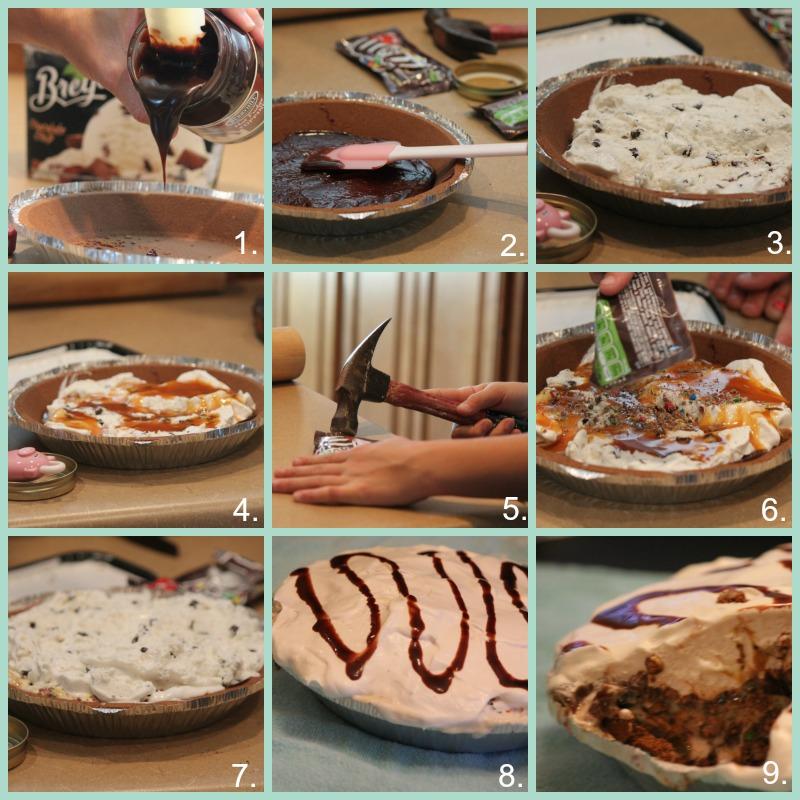 Ice Cream Sundae Pie - Passionate Penny Pincher