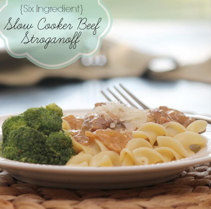 Easy Slow Beef Stroganoff