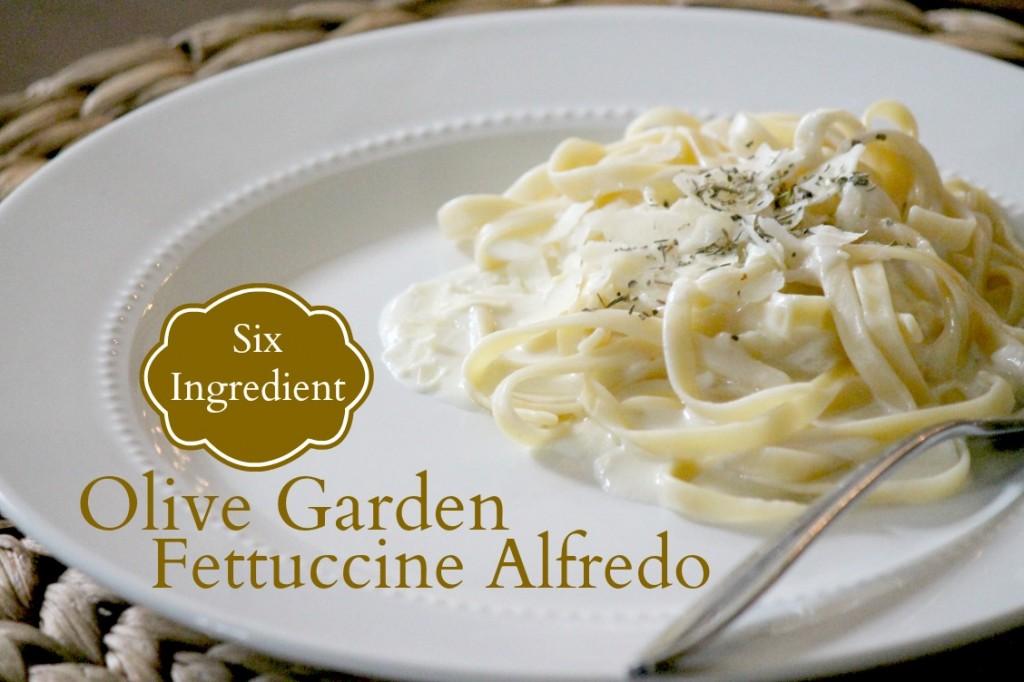 olive garden fettuccine alfredo passionate penny pincher