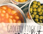 Free Grocery Stock Up Price List Printable