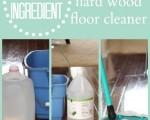 No Streak Hardwood Floor Cleaner {Just Two Ingredients You Already Have!}