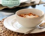 Olive Garden Pasta Fagioli Soup Recipe {Slow Cooker}