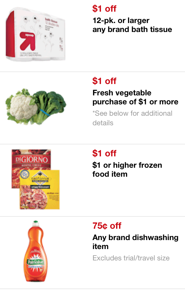 using coupons at Target