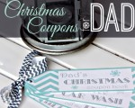 Christmas Coupons for Dad (Free Printable): 25 Days of Christmas Deals for Dad