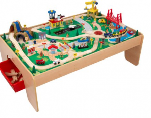 Lowest Prices On Kidkraft Train Table Step 1 Kitchen Set