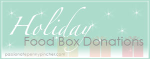 Holiday Food Box Donations