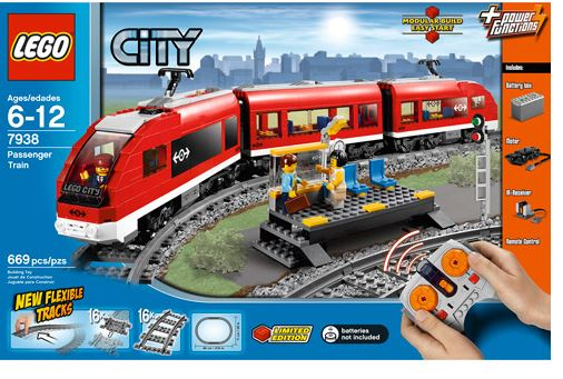 Lego City Passenger Remote Control Train Only 97 49