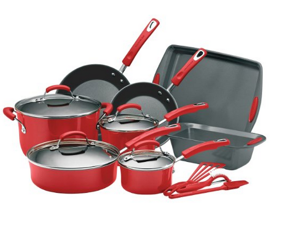Lightning Deal On TFal Cookware Set + Save On Rachael Ray, Rubbermaid ...