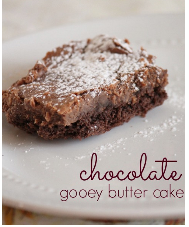 Gooey Butter Cake Chocolate