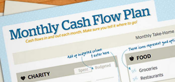 Free Monthly Cash Flow Plan Download From Dave Ramsey ...