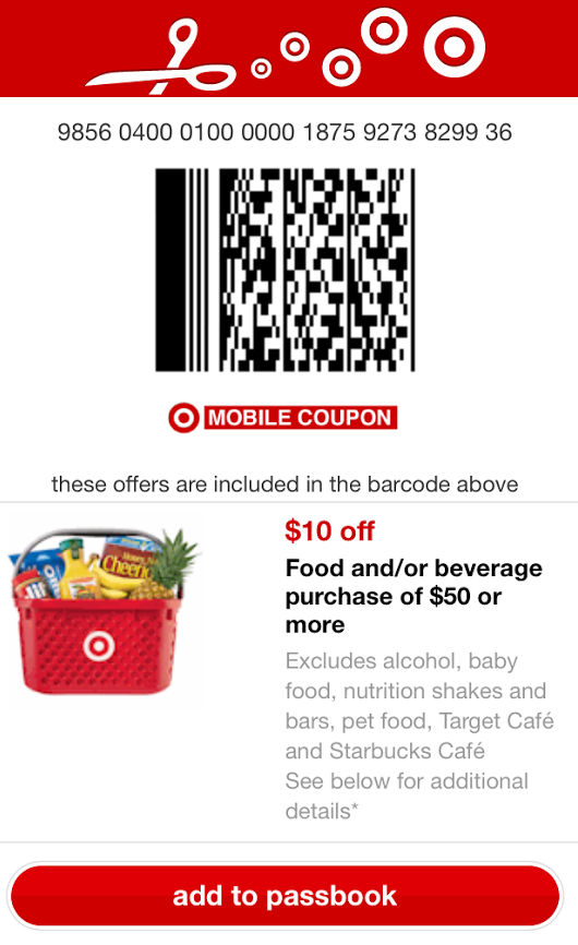 Target has some great mobile coupons right now here are a few you don