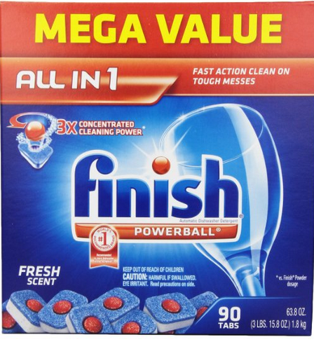 Finish powerball tablets coupons