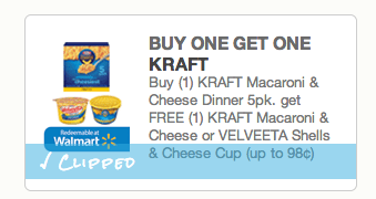 graphic about Kraft Printable Coupons titled Penny Pinchin Printable Discount coupons: BOGO Kraft Mac Cheese