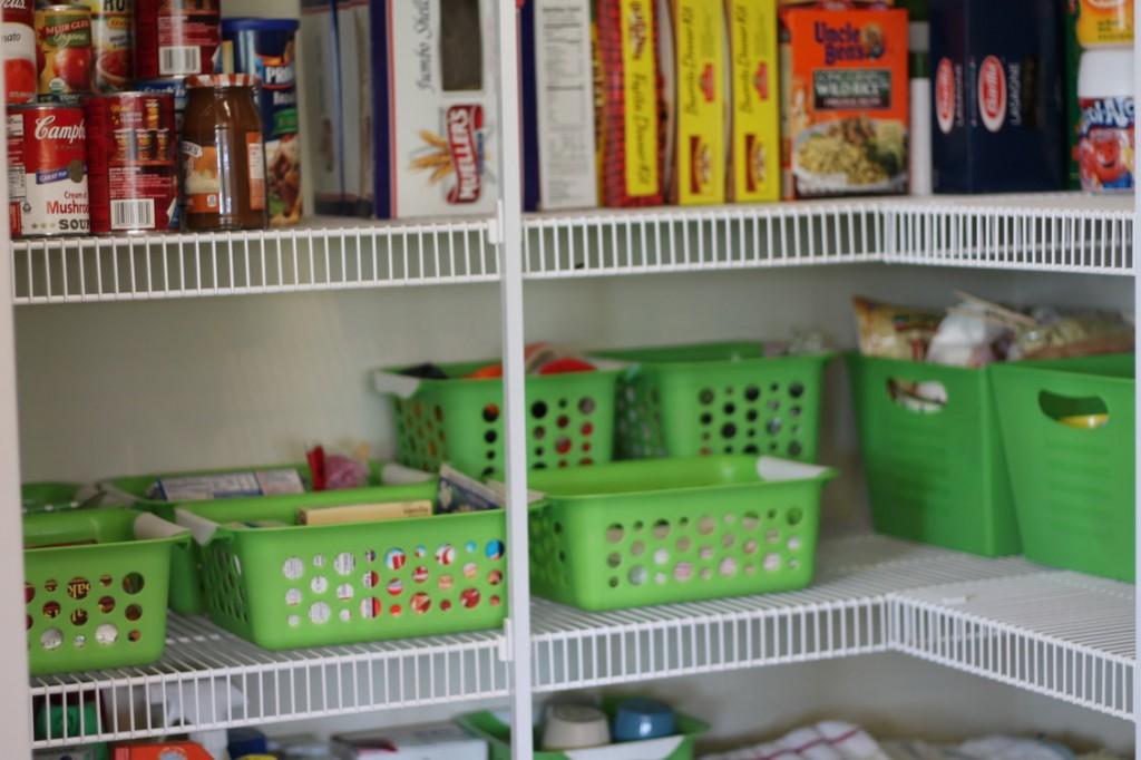 Kids Closet Organization Ideas   Pantry Organizing At The Dollar Tree