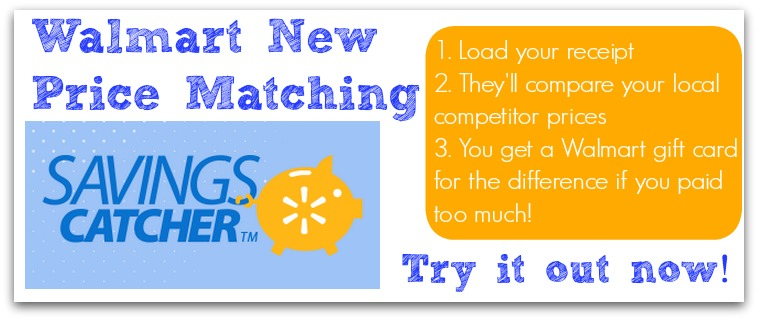 Don t forget to also try out walmart s new savings catcher program
