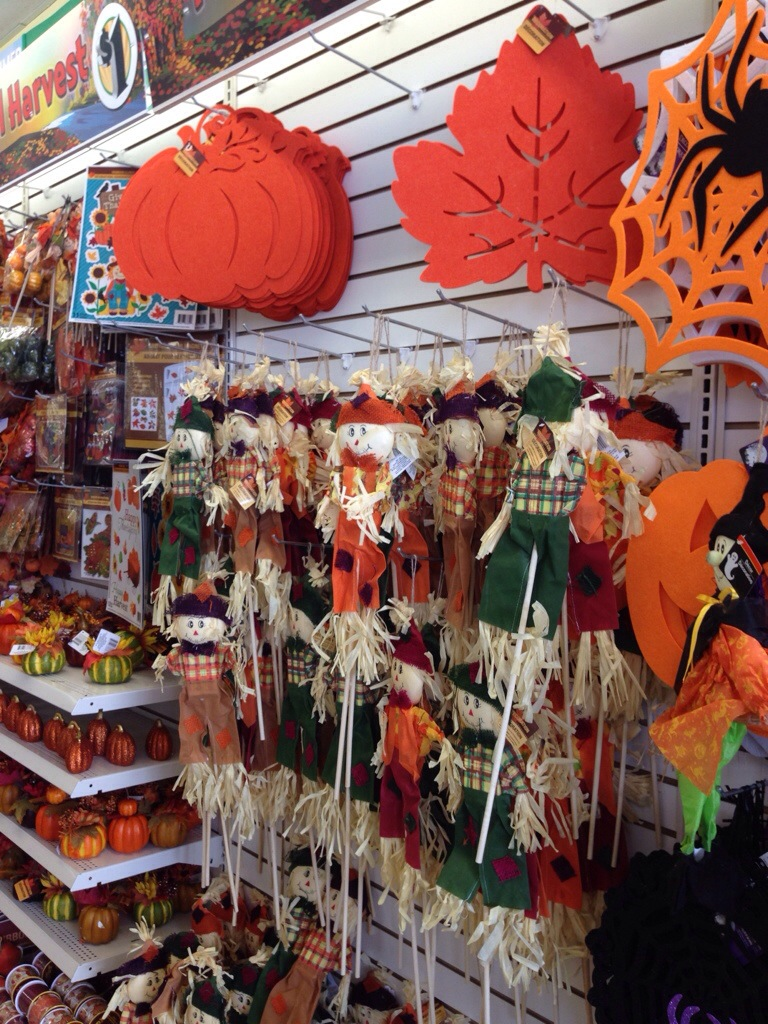 Dollar tree fall treats fall decor halloween party supplies more passionate penny pincher - Halloween decorations supplies ...